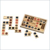 Guidecraft Hardwood Texture Dominoes