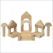 Guidecraft Hardwood Block Set, 34 Pieces