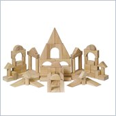 Guidecraft Hardwood Block Set, 76 Pieces