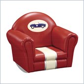 Guidecraft Retro Racers Upholstered Rocker