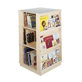 Guidecraft Birch 4-Sided Library