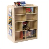 Guidecraft Birch Double-Sided Bookcase