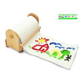 Guidecraft Birch Paper Center with 12 X 300' Paper Roll