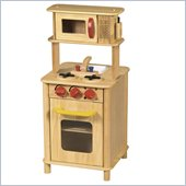 Guidecraft Solid wood Natural Kitchenette Center