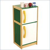 Guidecraft Hardwood Color-Bright Refrigerator