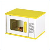 Guidecraft Hardwood Color-Bright Microwave