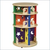 Guidecraft Moon and Stars - Media Storage Carousel