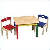 Guidecraft Moon and Stars - Table and Chair Set