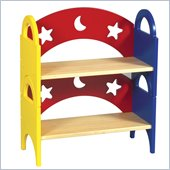 Guidecraft Moon and Stars - Stacking Bookshelf (Set of 2)