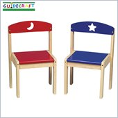 Guidecraft Moon and Stars Extra Chairs (Set of 2)