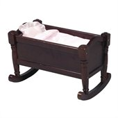 Guidecraft Espresso Doll Cradle