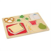 Guidecraft Sorting Food Trays: Lunch