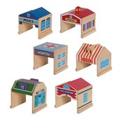 Guidecraft Set of 6 Community Buildings