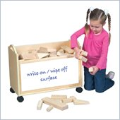 Guidecraft School Supply Block Cart