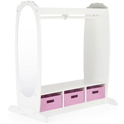 Guidecraft Dress-Up Storage Center in White