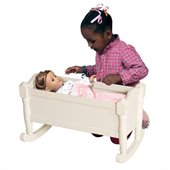 Guidecraft Doll Cradle in White