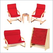 Guidecraft Birch Kiddie Rocker Set
