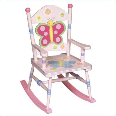 Guidecraft Butterfly Rocking Chair