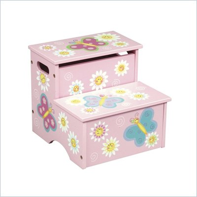 Guidecraft Butterfly Step Stool