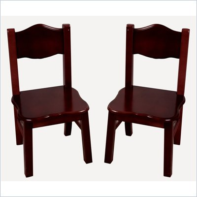 Guidecraft Classic Espresso Extra Chairs