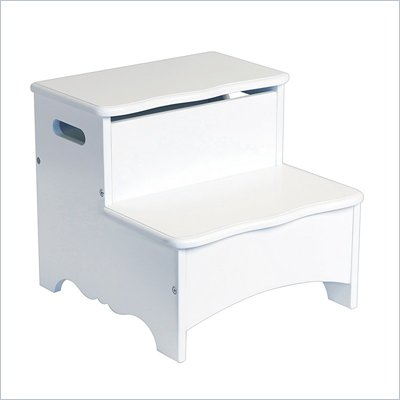 Guidecraft Classic White Storage Step-Up