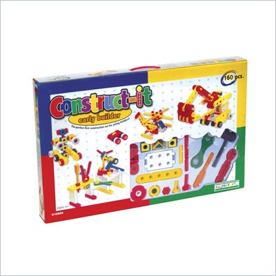 Guidecraft Construct-It Early Builder 160 Pieces