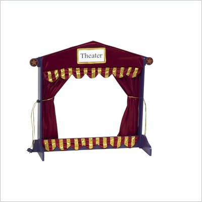 Guidecraft Royal Table Top Puppet Theater