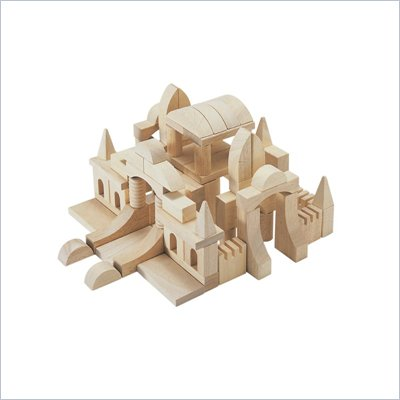 Guidecraft Hardwood Tabletop Building Blocks