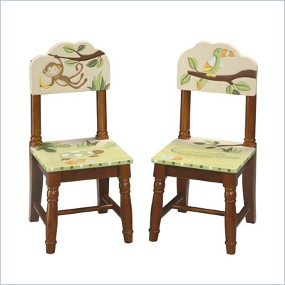 Guidecraft Hardwood Papagayo Extra Chairs (Set of 2)
