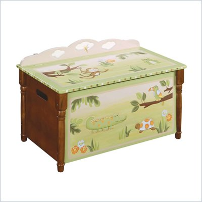 Guidecraft Hardwood Papagayo Toy Box