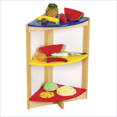Guidecraft Hardwood Color-Bright Side Shelf