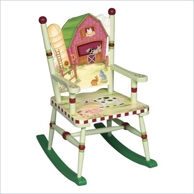 Guidecraft Little Farm House Rocking Chair