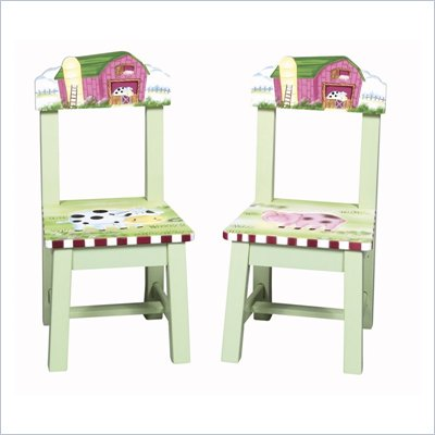 Guidecraft Little Farm House Extra Chairs (Set of 2)
