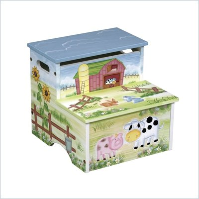 Guidecraft Little Farm House Step Stool