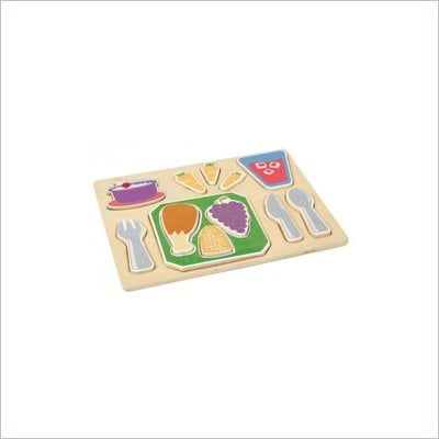 Guidecraft Sorting Food Trays: Dinner