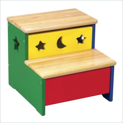 Guidecraft Moon and Stars Storage Step-Up