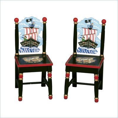 Guidecraft Pirate Extra Chairs (Set of 2)