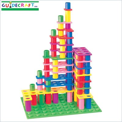 Guidecraft Skyscraper Building Set