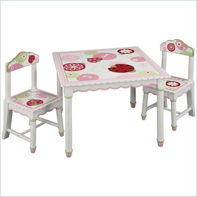 Guidecraft Sweetie Pie Table and Chairs