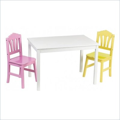 Guidecraft Harmony Kids Table and Chair Set