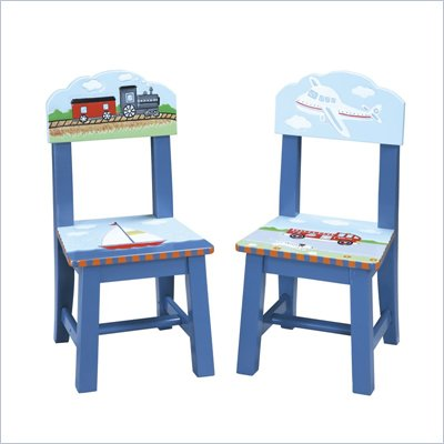Guidecraft Transportation Extra Chairs (Set of 2)