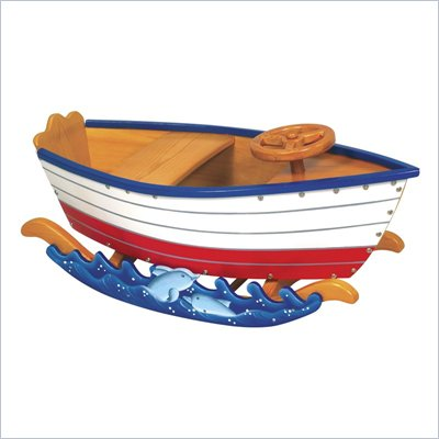 Guidecraft Wooden Retro Rockers Runabout
