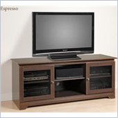 Prepac Ferentino 60 Black TV Stand