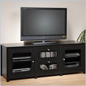 Prepac Arturo Series Plasma/LCD 2 Drawer Black TV Console