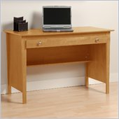 Prepac Belcarra Series Contemporary Wood Laptop Desk in Maple 