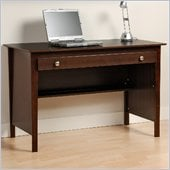Prepac Belcarra Series Contemporary Wood Laptop Desk in Espresso
