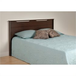 Prepac Coal Harbor Full / Queen Panel Headboard in Espresso
