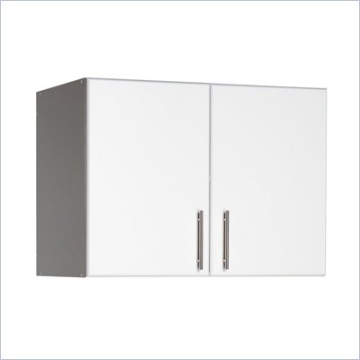 Prepac Elite Storage 32&quot; Topper &amp; Wall Cabinet with 2 doors