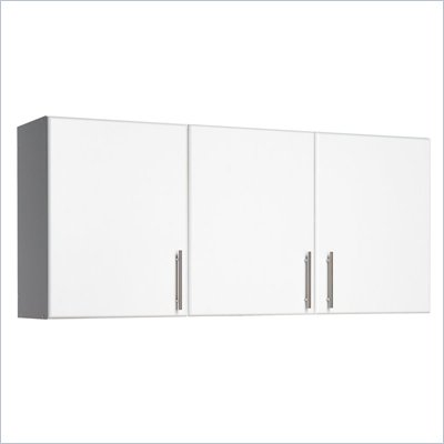 "Prepac Elite Storage 54"" Wall Cabinet with 3 doors"