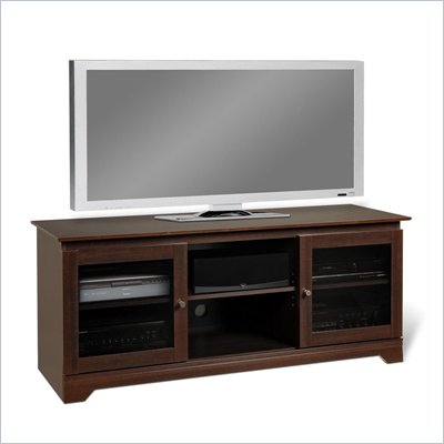Prepac Ferentino 60&quot; TV Stand Cabinet in Espresso